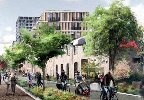 В Голландии скоро появится целый район для велодвижения