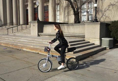 Автономный велосипед для пунктов проката